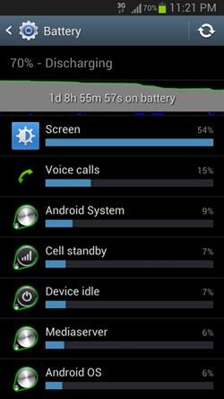 mugen battery usage