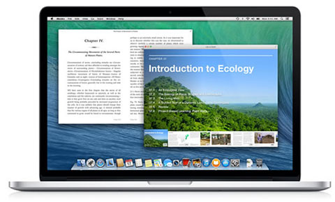 Mavericks iBooks