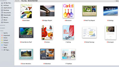 Mavericks Finder Tags