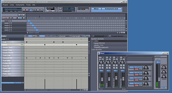 hydrogen drum synthesizer