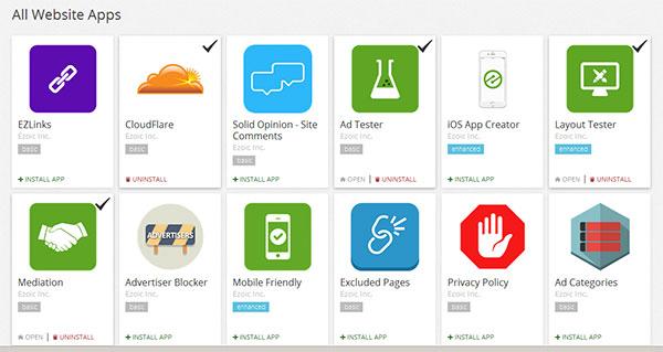 ezoic apps