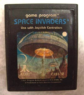 Space Invaders game from Atari 2600