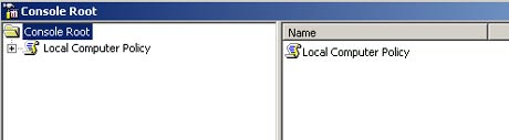 local-computer-policy-console