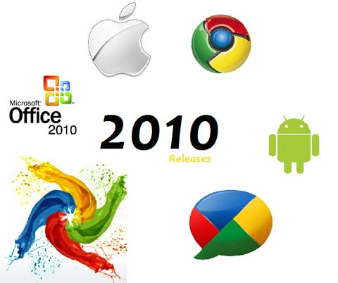Tech releases of 2010