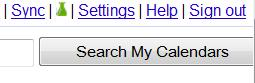 Google Calender settings