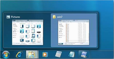 Windows key plus T key