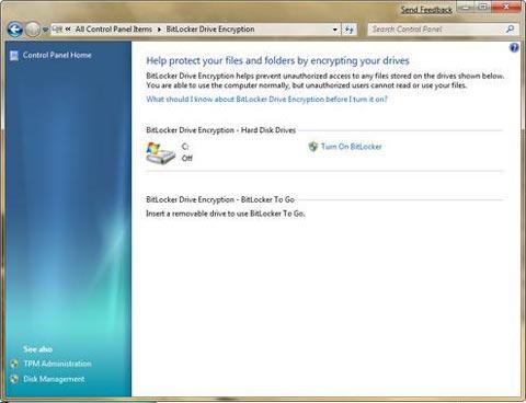 Windows 7 BitLocker