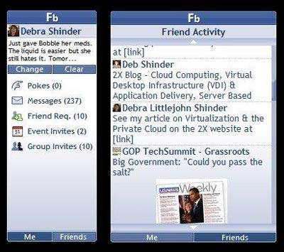 Windows 7 Facebook Explorer
